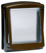 Petsafe Staywell Original 2 Way Pet Door Brown Small