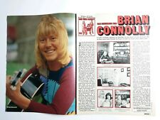 ♬The Sweet / Brian Connolly  ♬ Bravo Porträt A4 Poster / Report - 1974 (079)