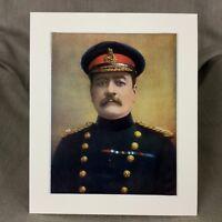 1900 Militare Ritratto Stampa Maggiore Hutton Canadese Militia Australiano