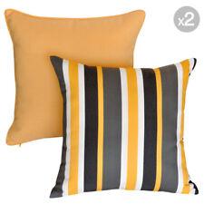 Set of 2. Noosa Sunshine + Mindill Sunshine Outdoor Cushion Covers - 45x45cm