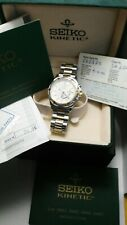 SEIKO KINETIC SQ100 DAY/DATE 5M43-0B90 vintage
