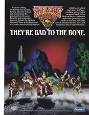 Vintage 1994 Playmates SKELETON WARRIORS action figure toy print ad page