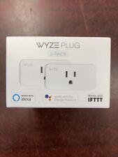 Wyze Plug Smart Home WiFi   2-pack  (FACTORY SEALED!)