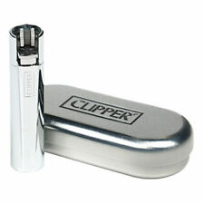 SILVER Clipper Metal Full Size Lighter (Polished + Gift Box) LIMITED EDITION USA
