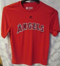 Angels Cool Base T-Shirt Evolution Tee Red Size Med Youth MLB Baseball