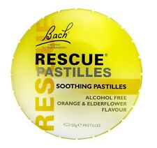 Bach Rescue Pastilles Orange and Elderflower 50g