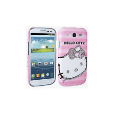 Samsung Galaxy S3 Hello Kitty Diamond Bling Case Cover (Pink)