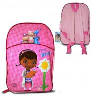 Disney Doc Mcstuffins Largr Arch School Bag Rucksack Backpack Brand New Gift