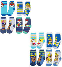 Paw Patrol Socks - Pack of 4