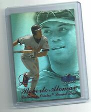 Roberto Alomar 1998 Flair Showcase Legacy Purple Masterpiece 1/1 Bankruptcy Card