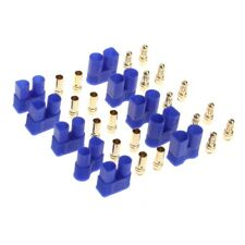 5 Pairs Male Female EC3 Style Connector w/10 Pairs 3.5mm Gold Bullet Banana Plug