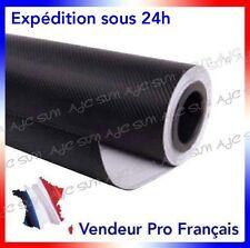 Film Vinyle 3D Carbone Noire adhésif thermoformable autocollant 152cm x 20 cm