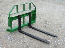42 Long Compact Tractor Loader Pallet Forks Fits John Deere 200 300 400 Loaders