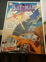Batman #107 DC (April 1957) 1st Robin as Owlman - G/VG 10cent issue