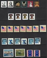 US 2007 NH COMPLETE DEFINITIVE YEAR SET 80 Stamps inc COIL PAIRS - Free Ship USA