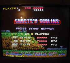 GHOSTS'N GOBLINS - Capcom / Bootleg Boot-leg / WORKING / ARCADE JAMMA PCB