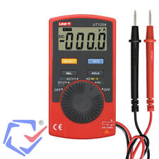 Multímetro Polímetro Digital Tester corriente AC/DC Medidor Comprobador UT120A