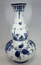 """Vase gemarkt """"Blauw Delft"""" Koninklijke Goedewaagen Holland H26,5cm"""