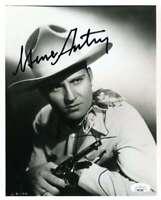 Gene Autry JSA Coa Signed 8x10 Photo Autographed