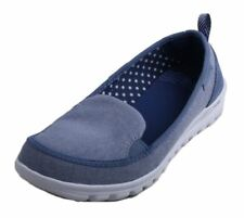 New Balance WL325BR Womens Blue Textile Slip On Casual Shoes Size 7 B