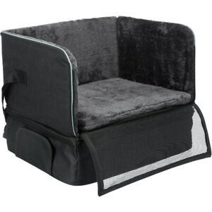Car Booster Safety Seat, Auto Black Secured Belt Travel Comfort Bed Mat Dog, 8kg