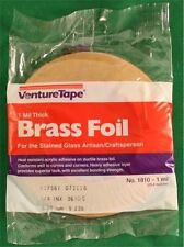 1/4 Venture BRASS Adhesive Stained Glass Foil Tape - 1.0 mil