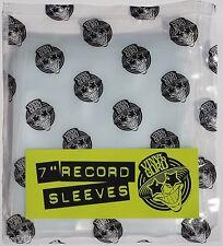"""Vinyl Guru Pack of 50 x 7"""" inch Record Single 400 Gauge Polythene Sleeves Covers"""