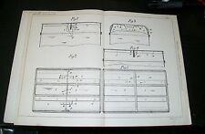Miglioramenti nella Scarborough e altri BAULI brevetto. Newton, sparkhill. 1899