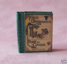Dollshouse Miniature Book - Book of Games