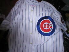 2003 GENE CLINES Chicago Cubs game worn used jersey