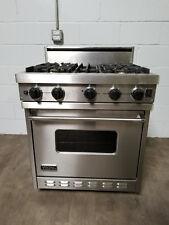 """VIKING VGIC307-4BSS 30"""" Pro Gas Range Oven 4 Burner Stainless Steel"""