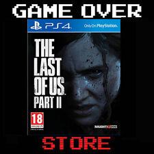 THE LAST OF US 2 Part II Playstation 4 PS4 Nuovo Italiano