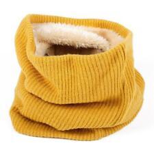 Men Women Winter Thickened Fleece Lined Warm Scarf Bib Pullover Neck Warmer