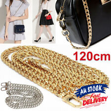 120CM Shoulder strap bag for Handbag Smooth Metal or purse Replacement Chain