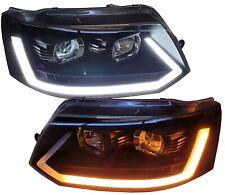 LIGHTBAR TAGFAHRLICHT SCHEINWERFER VW T5 GP BUS 09-15 FACELIFT LED LAUF-BLINKER