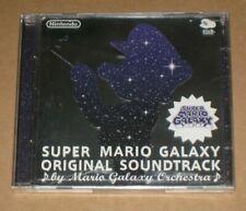 Super Mario Galaxy Club Nintendo Platinum Soundtrack CD 2 Disc Japan OST Sealed