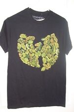 WU-TANG BUD WEED POT LEAF BLACK SIZE SMALL T SHIRT NEW SPENCER'S