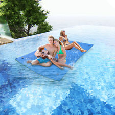 9X6 ft 3-Layer Floating Water Pad Water Sports Float Island Utility Mat Relaxing