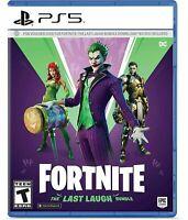 Fortnite The Last Laugh Bundle PlayStation 5 PS5