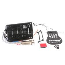 FISHMAN PRESYS 301 MIC Blend DUAL modello guitar preamp, Eq Accordatore Pickup piezoelettrici