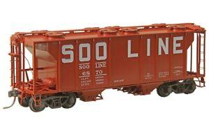 Kadee HO scale #8047 ~ SOO Line ~ PS-2 Bay Covered Hopper ~ NEW
