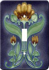 Art Nouveau Vintage Metal Switch Light Cover plate #5