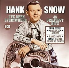 Hank Snow - I'Ve Been Everywhere: 48 Greatest Hits + H.S. Sings Jimmie RodgersSo