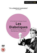 LES DIABOLIQUES DVD Simone Signoret  Vera Clouzot  Movie Film New  UK Release R2