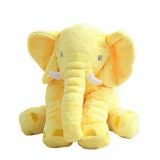 Soft Long Nose Elephant Doll Plush Stuff Toys Lumbar Pillow Children Baby Gift