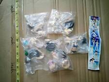 Takara Tomy SR K-On girl 2 mini figure gashapon 5 pcs Yui Mio bikini swim suit