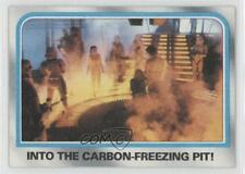 1980 Topps Star Wars: The Empire Strikes Back Into carbon-freezing pit! #203 2f4