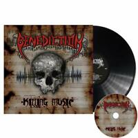 BENEDICTION - KILLING MUSIC   VINYL LP+CD NEU