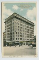 San Francisco, CA - c1915 POSTCARD - HOTEL WASHINGTON - GRANT AVE & BUSH - D
