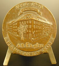 Médaille suède Sweden 1948 sporrong & co av Edward Anderson 56 mm  Medal